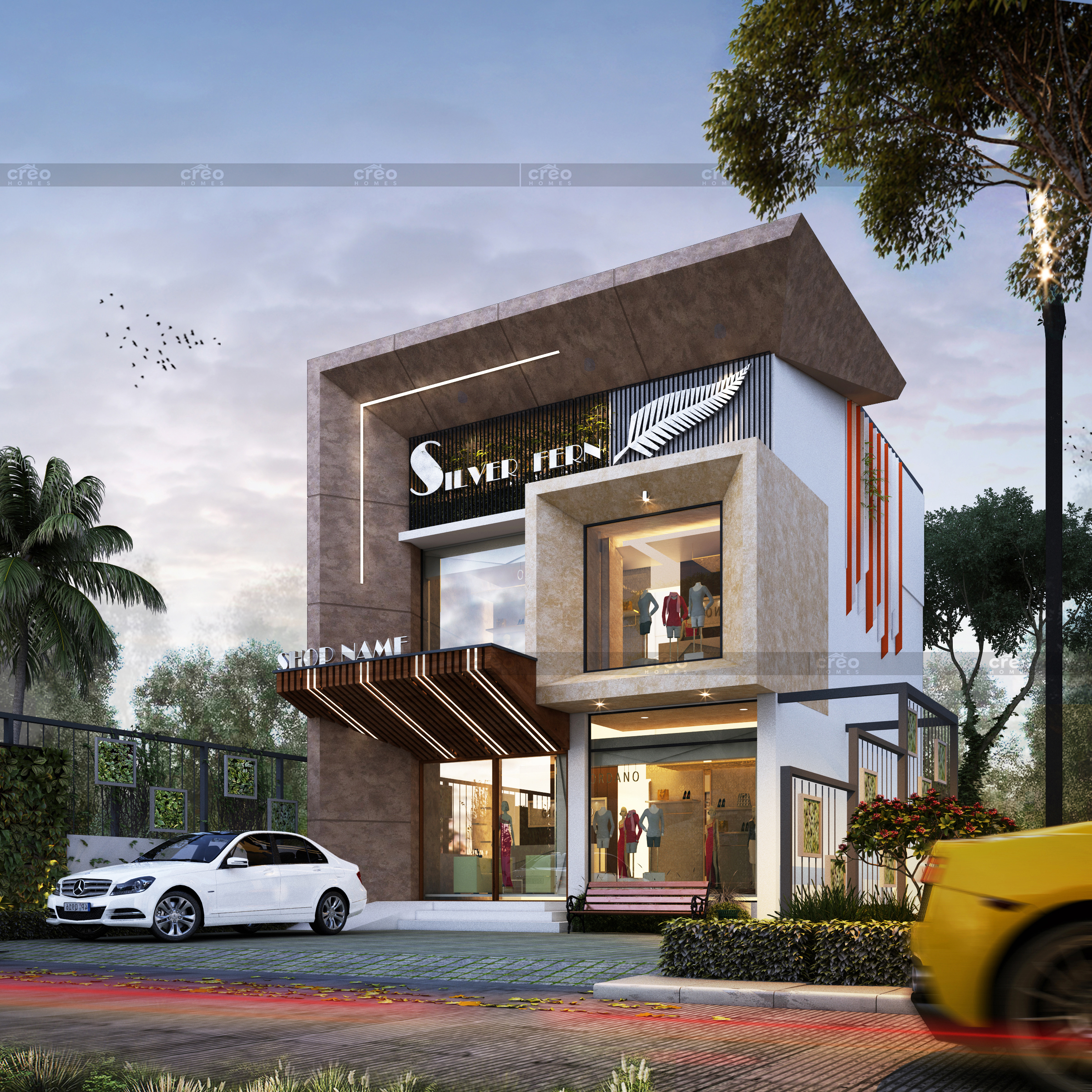 MANAZ COMMERCIAL BUILDING @ PALAKKAD